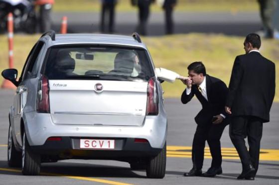 Papa Francisco eligió el Fiat Idea