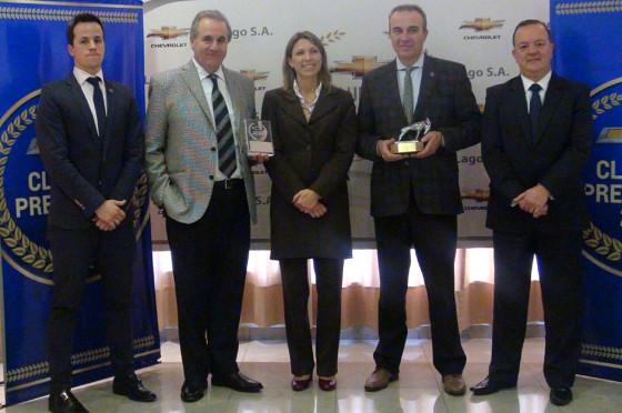 GM Argentina reconoció a sus concesionarios más destacados de 2014