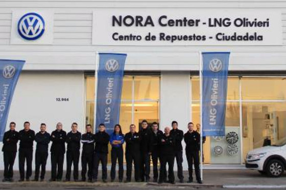 VW abrió el primer centro de distribución de repuestos de Argentina