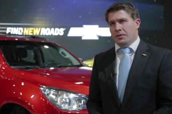 Nicolás Di Ció, Marketing Manager de GM Argentina.
