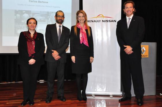 Giorgi presente en el Seminario de Renault-Nissan