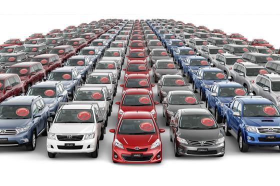 Toyota adelanta a VW en ventas globales