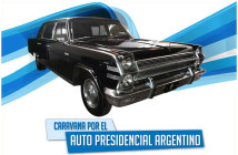 Caravana por el Auto Presidencial Argentino