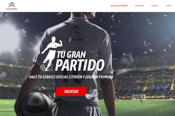 #Posventa: Citroën lanza un nuevo concurso para clientes apasionados por el fútbol