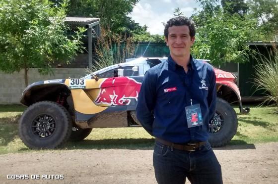 Julián Tello, gerente de Comunicación, Prensa y RR.PP. de Peugeot Argentina