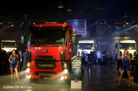 Ford Argentina lanzó la nueva línea Cargo Euro V