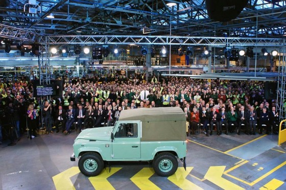 Último Land Rover Defender