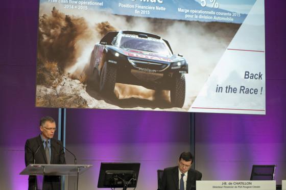 Carlos Tavares, presidente de PSA Peugeot Citroën.