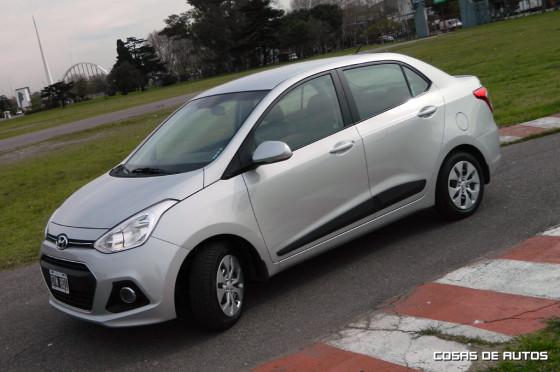 Test del Hyundai Grand i10 Sedán - Foto: Cosas de Autos