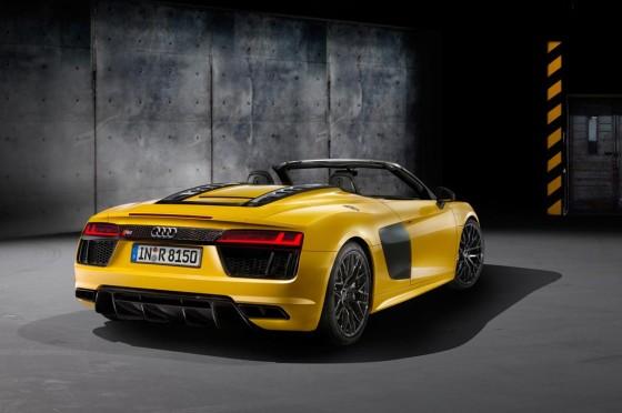 Nuevo Audi R8 Spyder