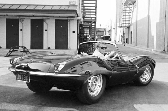 Jaguar XKSS y Steve McQueen
