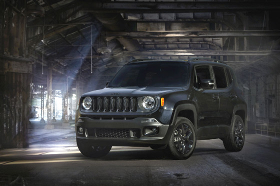Jeep Renegade Dawn of Justice