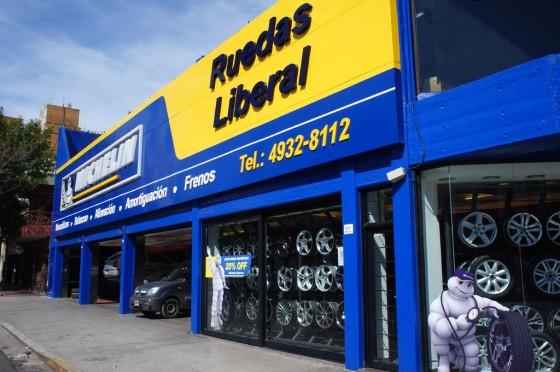 Ruedas Liberal local Michelin