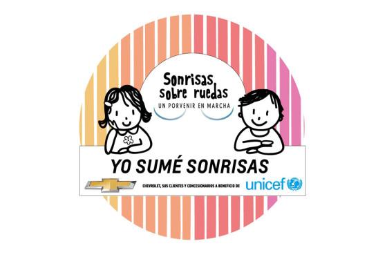 """Chevrolet y UNICEF siguen sumando """"Sonrisas sobre Ruedas"""""""