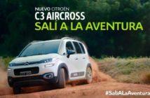 Citroën lanza la campaña SalíAlaAventura para el Nuevo C3 Aircross