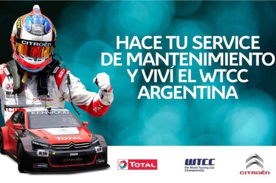 Concurso de Citroën para viajar a Termas a alentar Pechito López en el WTCC