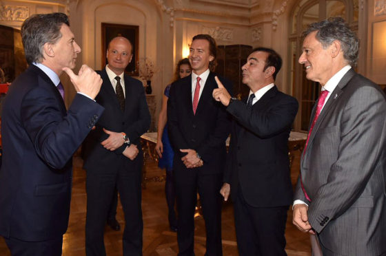 Ghosn y Macri