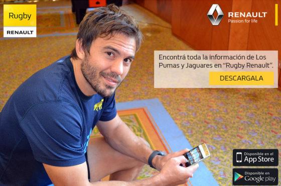 Renault App Rugby