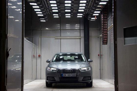 Audi llevó a cabo la 100º prueba INKA sobre el nuevo A4