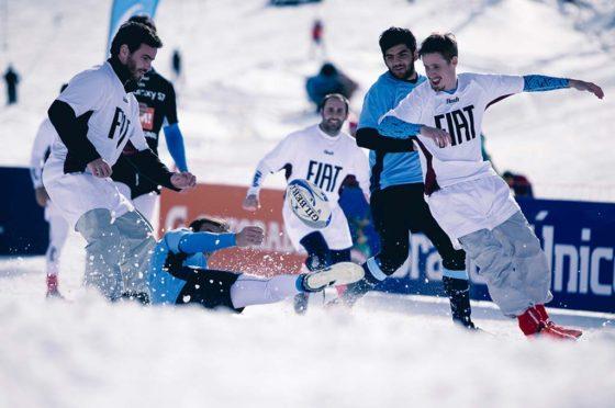 Fiat auspicia el Rugby Snow Challenge