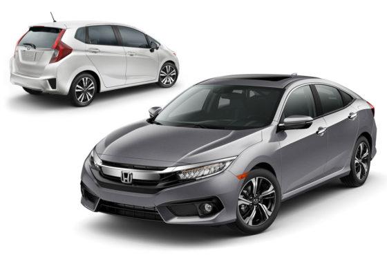 Honda Fit y New Civic