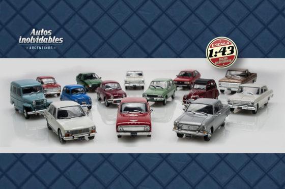 """Colección Salvat """"Autos Inolvidables Argentinos"""""""