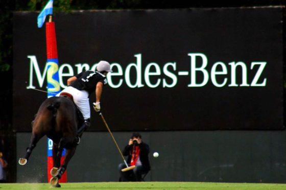 Mercedes-Benz sponsor del polo argentino