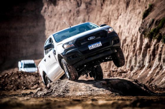 Ford Ranger Experience, prueba off road