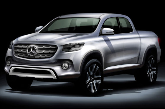 La pick-up de Mercedes-Benz