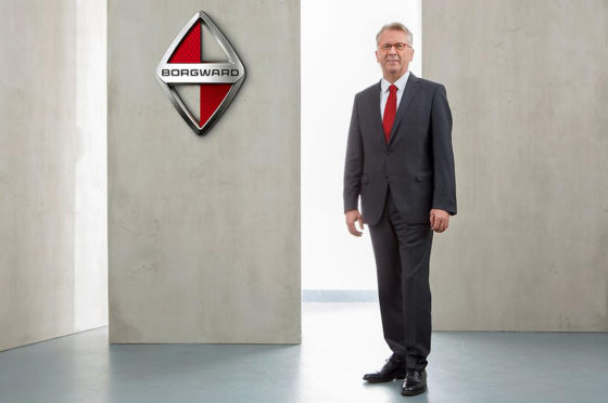 Ulrich Walker, presidente y CEO global de de Borgward