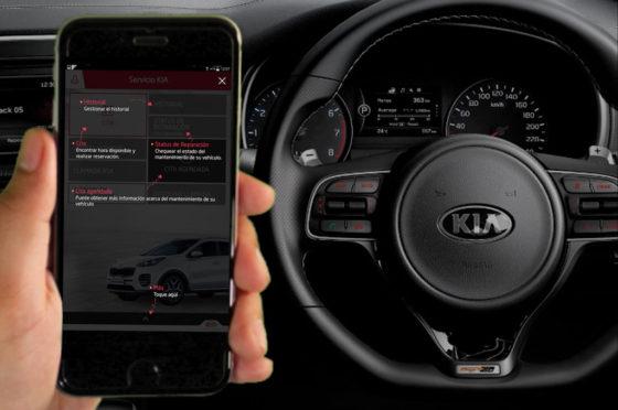 Kia lanza su app de servicio rápido
