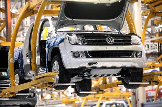 Producción de Planta Pacheco de VW Amarok en Planta Pacheco
