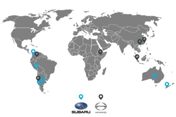 Inchcape en Sudamérica