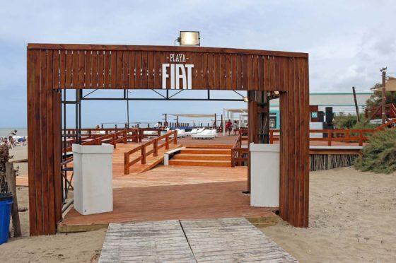 Fiat puso en marcha su operativo en la Costa Atlántica argentina y en Punta del Este