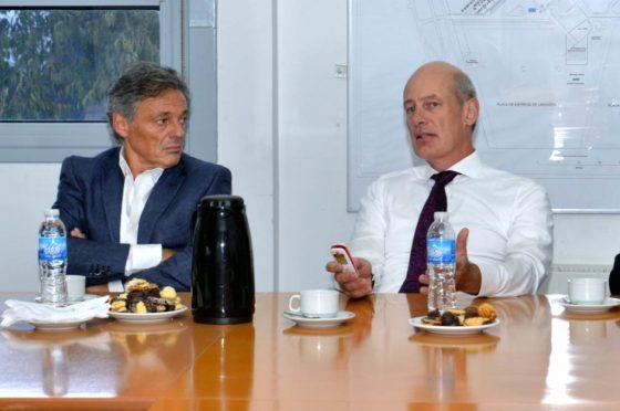 Francisco Cabrera y Joachim Maier