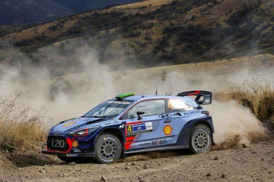 Hyundai es el vehículo oficial del Rally Argentina 2017