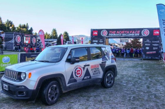 Jeep junto a The North Face Endurance Challenge 2017