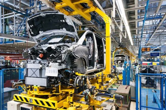 Fábrica de Mercedes-Benz en Virrey del Pino