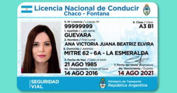 Nueva Licencia Nacional de Conducir