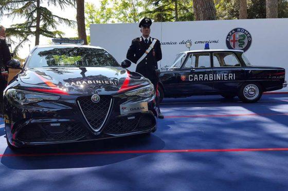 Alfa Romeo Giulia de los Carabinieri