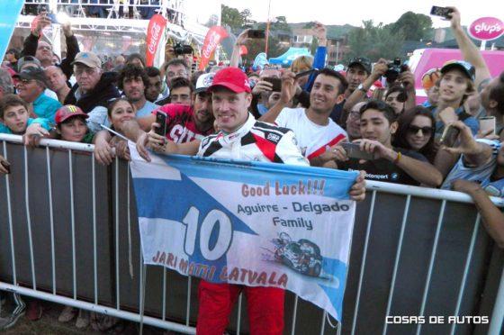 Latvala en el Rally de Argentina