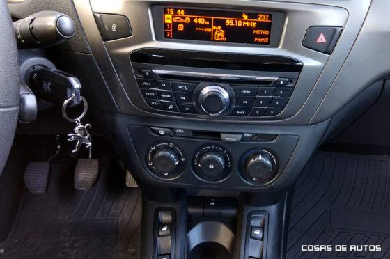 Computadora de abordo y radio tradicional para el HDI Allure MT5