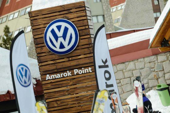 #Invierno2017: fuerte presencia de Volkswagen en Las Leñas con la Amarok V6 como protagonista