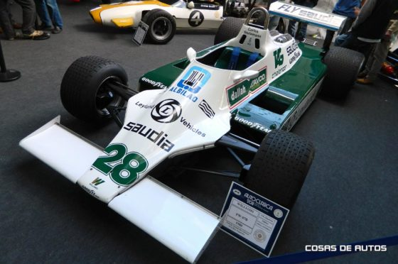 Williams FW07 de 1980 de Reutemann