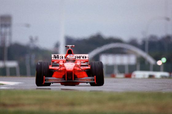 Michael Schumacher GP de Argentina 1998