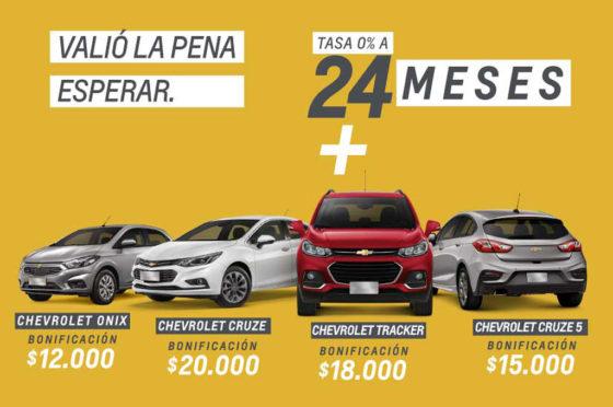 Bonificaciones Chevrolet