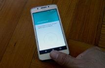 Motorola Moto G5 lector de huellas