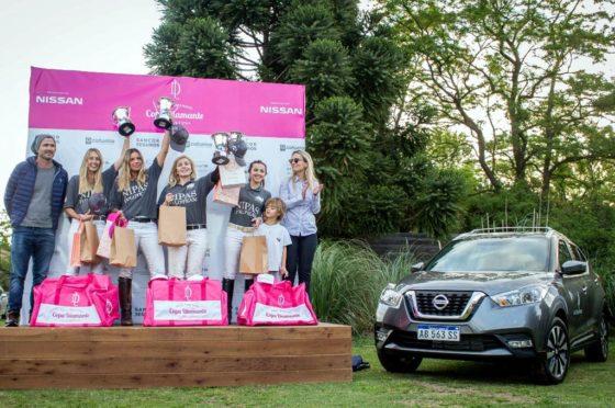 Nissan junto al polo femenino