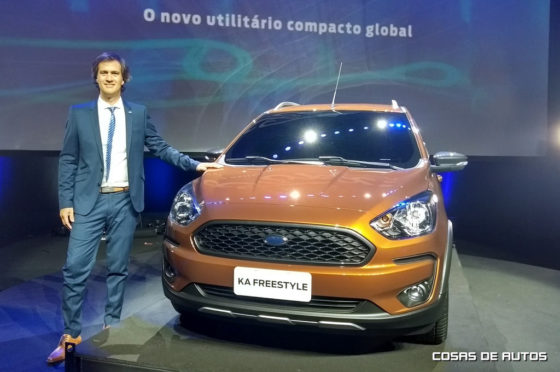 Santiago Labella, responsable de comunicaciones de Ford Argentina.