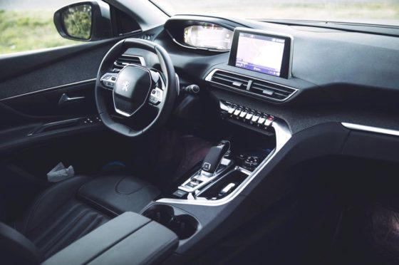 Interior del Nuevo Peugeot 5008